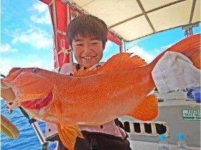【沖縄・石垣島】本気の体験フィッシングツアー 高級魚狙い体験コース!手ぶらOK!【AM・PMコース】