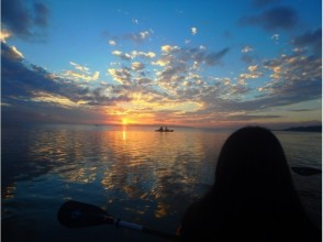 【Okinawa · Ishigakijima】 Sunset & Night Kayak Experience! The sunset overlooking from the sea is impressive! 【Image of the Sky of the Sky