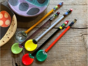 【京都・ガラス細工】京町家でつくる!ガラスのティースプーン作り体験!の画像