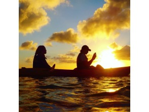 [Regional common coupons available / New corona measures] Same-day reservations are OK! Feeling like chasing the sunset over the horizon. Sunset kayak tour! Free photo / video gift ★