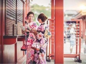 【東京・23区】和装で街を散策しませんか? 銀座でできる着物のレンタル・着付けプランの画像