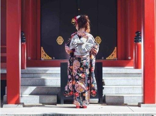 กิโมโนเช่าร้าน vasara วัด Sensoji