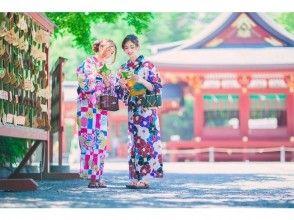 [Tokyo / Asakusa] Let's go to Asakusa sightseeing in Yukata! [Yukata rental & dressing plan]