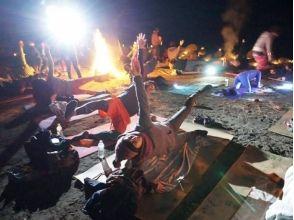 【Kanagawa · Sagamihara】 Feel the warmth of the bonfire and look at the starry sky ★ Baan Yoga & Pilates