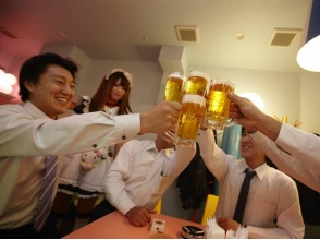 【Tokyo · Akihabara】 Even the first time can enjoy it! A casual maid cafe experience (meal plan) image
