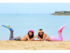 【Okinawa · Onna Village】 Mermaid Swim & Photography Course Underwater swimming & photography & SD card gifts included! Image of