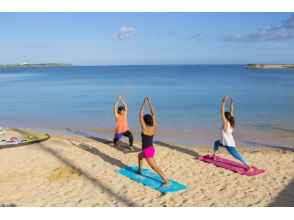 【Okinawa · Onna Village】 Guide monopoly! Beach Yoga course Secure shop collection! Photo shoot + SD card gift!
