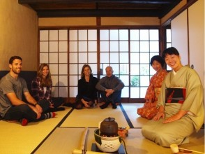 【Kyoto · Higashiyama】 Experience the tea ceremony in the tea room near Chion-in Temple! Image of group tea ceremony experience