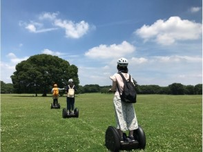 【Tokyo · National Showa Memorial Park】 Enjoy the Segway in nature! ♪ image with tea time