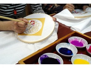 【Kyoto / Kyoto City】 Traditional Kyoto ☆ hand-painted Yuzen experience! Image of
