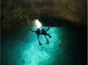 【ご到着日にぴったり!半日コース】青の洞窟&サンセットカヤックツアー!の画像