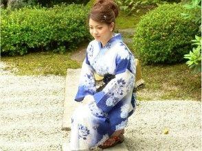 【京都・嵐山】宿泊先で浴衣に変身!〔出張着付け&浴衣レンタルプラン〕の画像