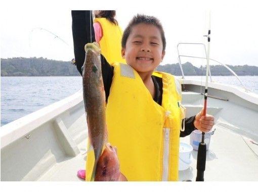 轻松的近海钓鱼之旅!来自孩子们大人随意享受! !の紹介画像