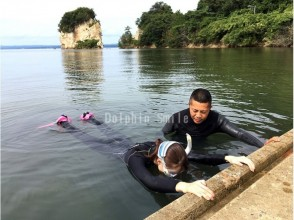 【Ishikawa · Noto】 Skin diving training