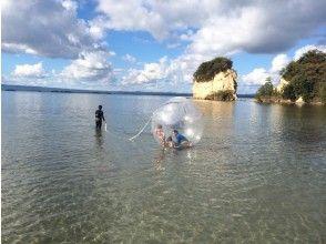 【石川・能登】まるで海上散歩!水玉(アクアボール)体験!5歳から参加OK!