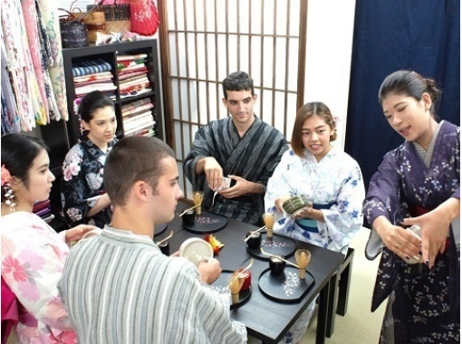 【埼玉・川越】小江戸で日本文化を体感しよう!着物レンタル&茶道体験