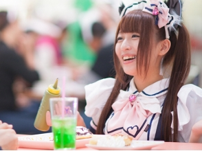 【Aichi / Nagoya】 Good access near the station ♪ Feel free to experience a maid cafe! Image of [cafe plan]