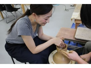 """[Tokushima/Naruto] Traditional crafts """"Otani ware"""" electric potter's wheel experience-one-on-one guidance is safe for beginners!"""
