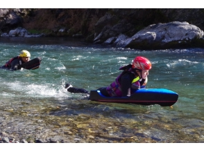 【Tokyo · Ome City】 Challenge the ultimate river sports in Okutama! River board 1 day course! Image data free gift image