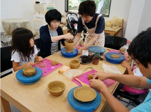 【徳島・鳴門】伝統的工芸品「大谷焼」手びねり体験!6才のお子様から楽しめます!