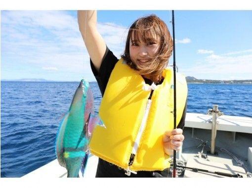 恩纳村的半日近海捕鱼计划!冲绳在♪享受钓鱼の紹介画像