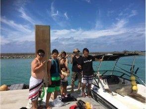 【沖縄・国頭村】沖縄本島北部でウェイクボード&シュノーケリングの画像