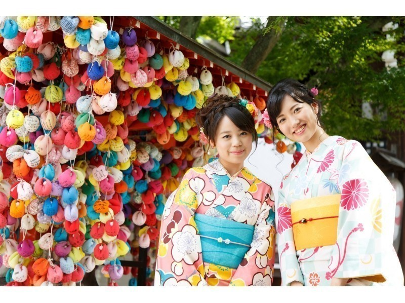 【Kyoto · Gojo】 Introduction of Kyoto One Day Stroll (with Hair Set) [Recommended for Women] in Kimono