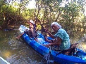 【Okinawa · Kunitaka】 Relaxing mangrove kayak at the northern part of Okinawa main island designated as Yanbaru National Park ♪