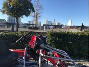 [Yokohama · Kannai] Run through the streets of Yokohama! Image of [rental cart experience]