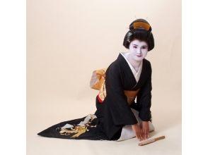 【京都・五条】芸妓体験プラン(室内撮影:写真3枚プラン)の画像