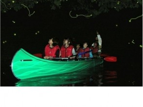 Lake Aoki A walk on the lake surface of starry sky (in the case of cloudy night) & firefly ornamental cruise