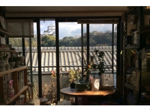 【Hyogo · Himeji】 While watching the castle Experience pottery · Electric rocket plan