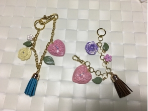 【Okayama / Kurashiki】 Clay Couture Experience Let's make a cute little tasseled charm with clay! ! Image of