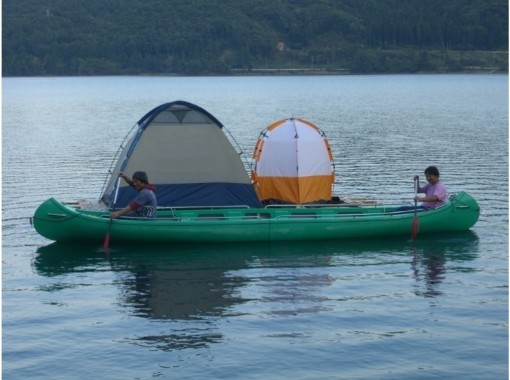 [Nagano / Omachi City Camp] Staying in a tent on Lake Aoki, where the starlight shinesの紹介画像
