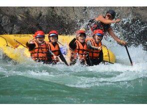 【熊本・球磨川】日本三大急流の一つ!球磨川でラフティング体験(PMコース)の画像