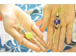 【Near Okinawa · Naha! 】 Popular souvenirs! Image of killer ball strap making experience