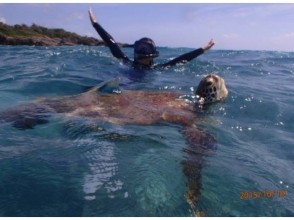 [Okinawa Miyakojima] 100% sea turtle snorkel & power spot cave exploration & lunch! Charge plan · Group-wide! Image of