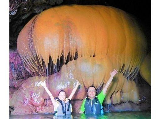 电晕措施是完美的!浮潜和发现斑点的石灰岩洞穴移动愈合之旅,与100%的野生海龟一起游泳,与少数人同行!免费的照片数据!の紹介画像