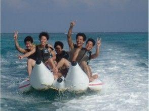【沖縄・宮古島】日本一美しい前浜ビーチでマリン3種!バナナ&マーブル&ジェットスキー!団体割有の画像