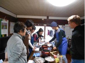 [德島阿波]的圖像的農民學校★豆腐製作經驗阿波使用有機大豆