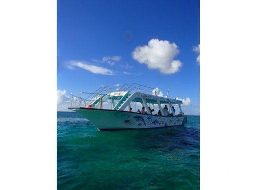 【沖縄・恩納村】keep blue号で行くグラスボート遊覧