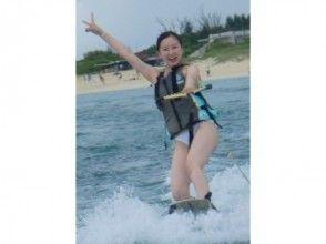 【宮古島】前浜ビーチでマリンスポーツ4種!バナナ&マーブル&ジェット&ウェイク!団体割引有!の画像