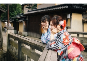 【石川・金沢】着物・浴衣で金沢の街におでかけ!〔全部こみこみプラン〕の画像