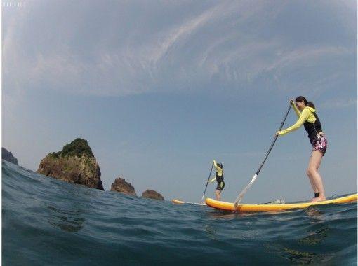 熊本・天草【天草の美しい海で】SUP体験クルージング【午前】※1~2名様用プラン
