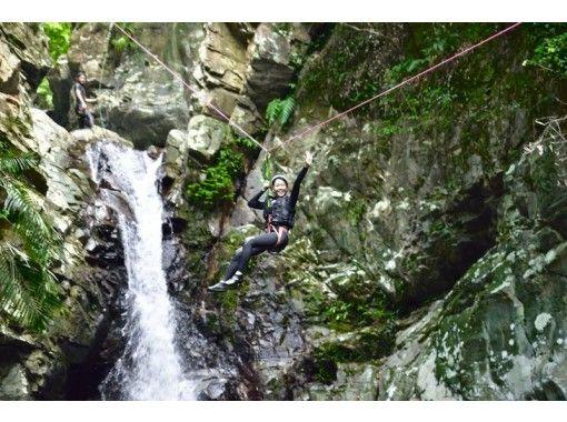 【沖縄・やんばる】秘境やんばるシャワークライミング&キャニオニング【ジップスライド&天然のウォーター
