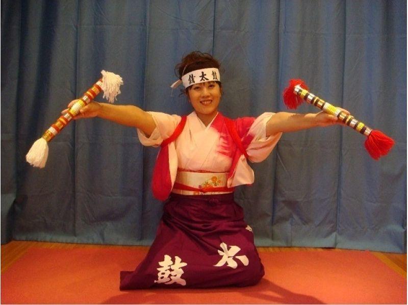 【島根・安来】伝統芸能☆安来節(やすぎぶし)「銭太鼓」体験!の紹介画像