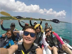 【沖縄・宮古島】海亀シュノーケル&カヤックツアー(1日コース)の画像