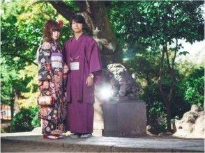 【Okayama / Kurashiki】 Walking around Kurashiki in kimono shape! [Kimono rental & hand stroke walk plan] image
