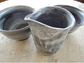 【群馬・桐生】黒い土を使って、おしゃれな器を作ろう★〔陶芸体験〕