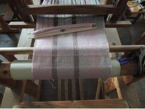 【群馬・桐生】模様のあるストールを手織りしよう〔手織り体験〕の画像